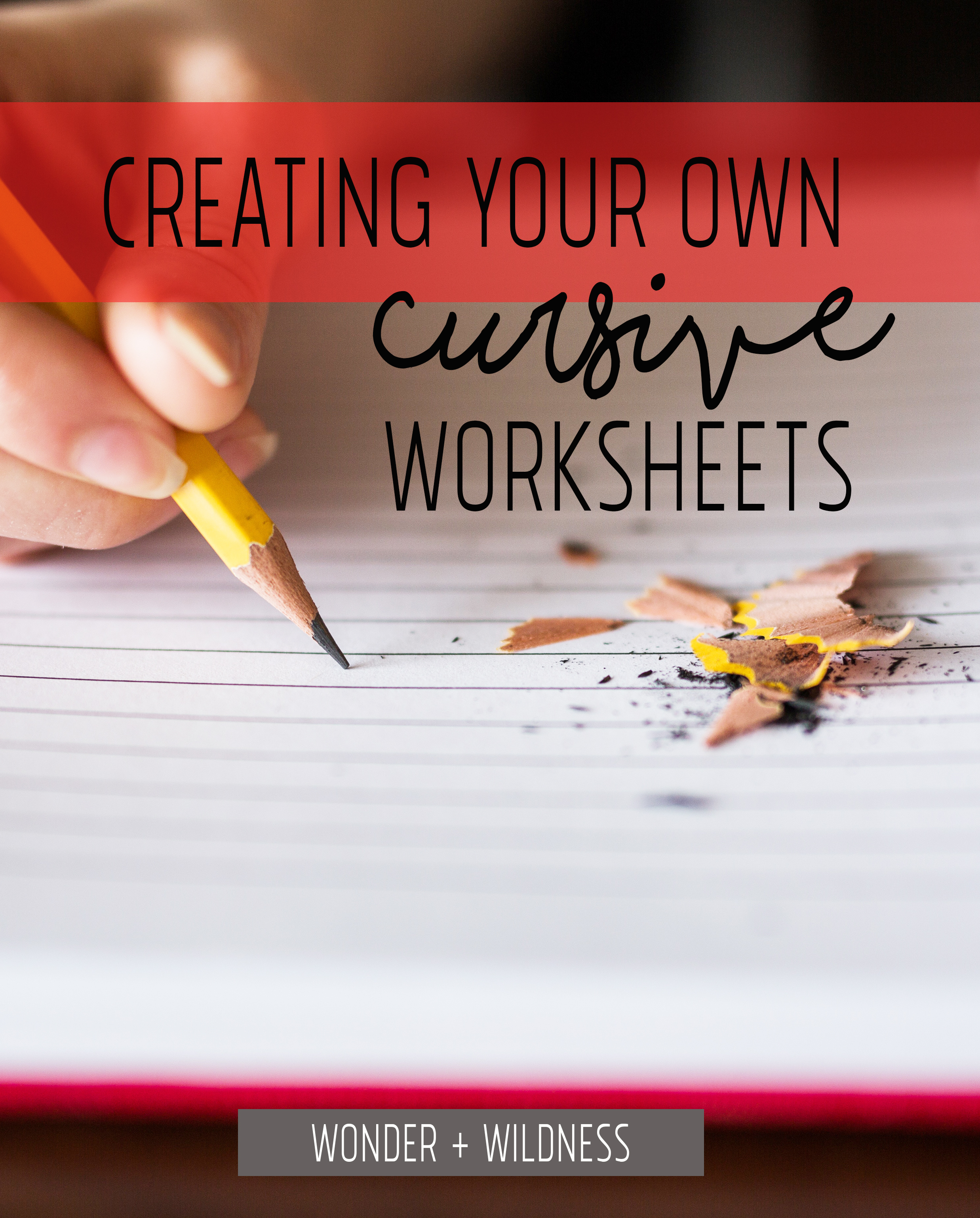 Create your own worksheet math